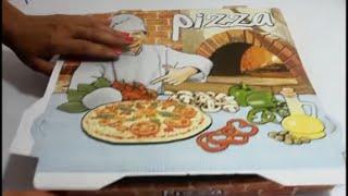 getlinkyoutube.com-COMO HACER LIENZOS CASEROS CON CAJAS DE PIZZA