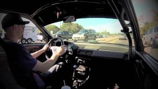 getlinkyoutube.com-Cruising 1990 B20 Vtec Civic EF Hatch  GoPro