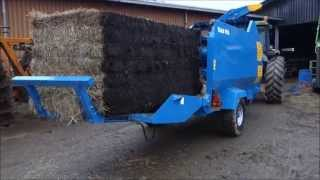 Kidd 850 Bale Shredder