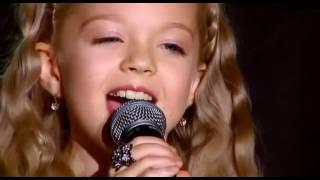 getlinkyoutube.com-Anastasia Petrik (8-years old) & Philip Kirkorov singing Snow (English lyrics)