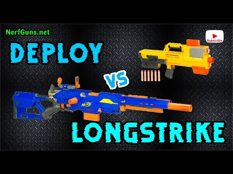 Deploy vs Longstrike - Which 2010 Nerf Gun Wins?