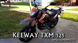 🔴 KEEWAY TXM 125 | 4K | Brzmienie i prezentacja motocykla 125ccm