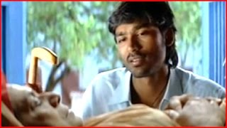 getlinkyoutube.com-Yaaradi Nee Mohini Tamil Movie - Dhanush saves Sukumari's life