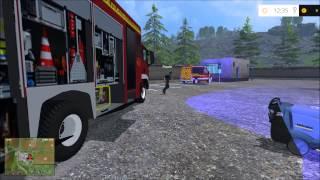 getlinkyoutube.com-Let's Play LS15 Feuerwehr [Tanklaster Steht in Flammen] #06