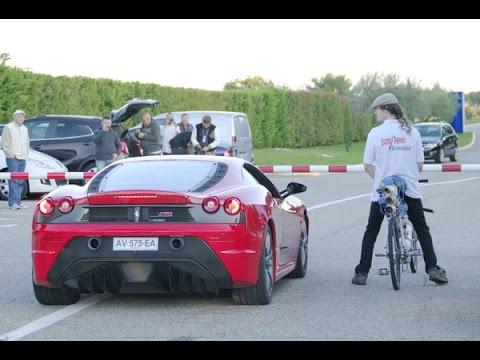François Gissy  Bicycle World Record 207 mph   333 km/h