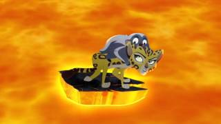 getlinkyoutube.com-The Lion Guard: Volcano Rescue! - Fuli's New Family Clip HD