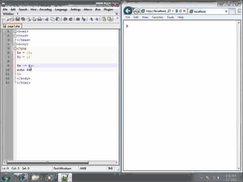 PHP Lesson 24 - Assignment Operators in PHP