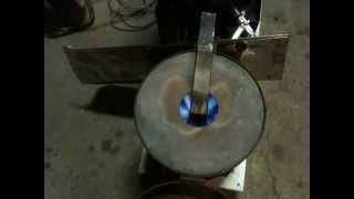 getlinkyoutube.com-廃油ストーブ、点火から、燃焼初期