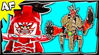 General KOZU STONE MECH Custom Lego Ninjago Rebooted 70504 70500 70723 Animated Building Review