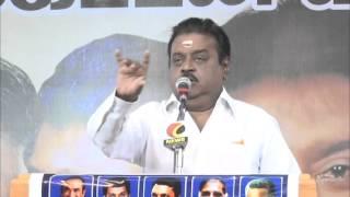 The Most Clear Speech Of Vijayakanth - Must Watch