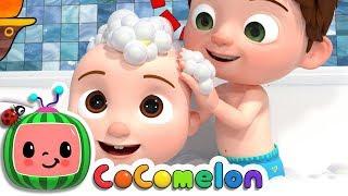 Bath-Song-ABCkidTV-Nursery-Rhymes-Kids-Songs width=