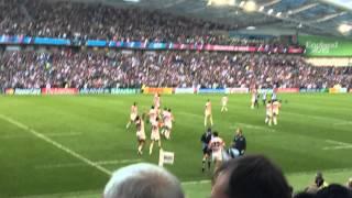 getlinkyoutube.com-ラグビーワールドカップ2015 日本 vs 南アフリカ 勝利の瞬間(現地) Rugby world cup 2015 Japan vs South Africa at the stadium