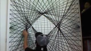 Personal Yarn Art Project (16x Speed)