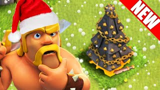 "getlinkyoutube.com-Clash of Clans - ""Removing NEW 2015 Christmas Tree!!"" NEW 2015 Christmas Update!! CoC XMAS TREE!!"