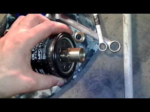 Расположение датчика давления масла у Rover 25