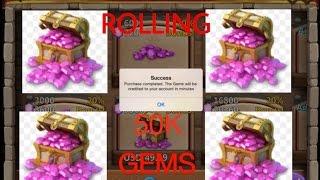 getlinkyoutube.com-Castle clash: Secret Santa :-)