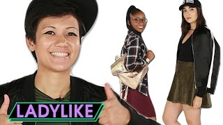 flushyoutube.com-Adult Women Try Back To School Fashion • Ladylike
