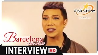 Interview | Vice Ganda | 'Barcelona: A Love Untold'