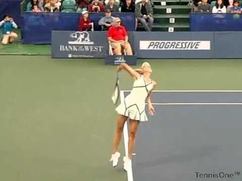 Maria Sharapova - Serve - Slow Motion