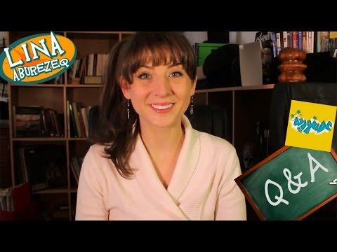 Q&A  أسئلة وأجوبة مع لينا أبو رزق عن مسلسل عصفورية