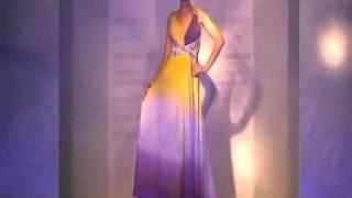 getlinkyoutube.com-New 2011 Summer Doris Evening Gown  Fashion Show