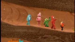 Yo Gabba Gabba - Follow the Oskie Bugs song