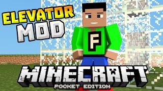getlinkyoutube.com-ELEVATOR MOD in MCPE!!! - Up & Down Elevators in 0.13.0 - Minecraft PE (Pocket Edition)