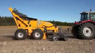 ELHO Scorpio 550 rock picker