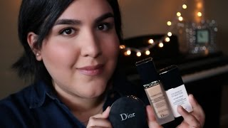 getlinkyoutube.com-NEW Dior Diorskin Forever Perfect Makeup Everlasting Wear Pore-Refining Effect