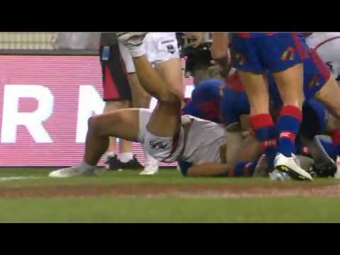 NRL 2012 Round 1 Highlights: Knights V Dragons