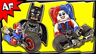 getlinkyoutube.com-Lego Batman Gotham City Cycle Chase 76053 Stop Motion Build Review