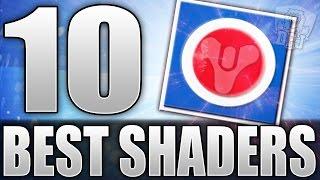 getlinkyoutube.com-Destiny: Top 10 Best Shaders In The Game! (10 BEST DESTINY SHADERS)