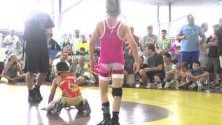 getlinkyoutube.com-63lbs, finals, Stevo Poulin, Weaver Blue vs Alejandro Herrera, Griffin