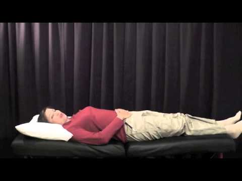 Lower Abdominal Strain Rehab Video - Lower Abdominal Strain