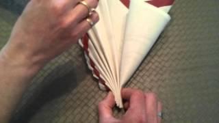 getlinkyoutube.com-pliage de serviette sympa