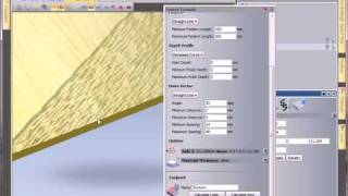 getlinkyoutube.com-ArtCAM 2010: 2D texture toolpath