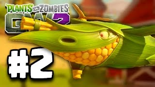 getlinkyoutube.com-Plants Vs Zombies: Garden Warfare 2 Part 2 - FLYING THE BUTTERHAWK PLANE! (PvZ GW 2 Ep 2)