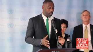 Idris Elba - Today was a bad day for Ebola