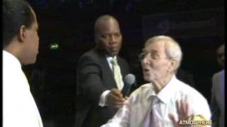 PASTOR CHRIS LAID HAND ON A 57 YEARS OLD WOMAN AND GOT UP FROM WHEEL CHAIR width=