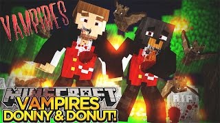 getlinkyoutube.com-BABY VAMPIRES BITE DONNY & DONUT!!! - Minecraft - Little Donny Adventures.