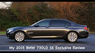 getlinkyoutube.com-2015 BMW 730LD SE Exclusive Review N57 F02