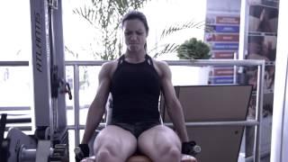 getlinkyoutube.com-Melanie Noel Figure IFBB PRO Training Session