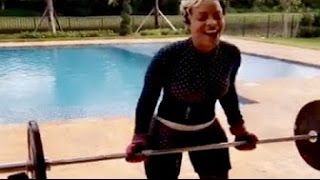 Gucci Mane Wife Keyshia Ka'Oir is a BEAST with Her Workouts