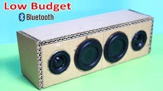 Portable Cardboard Bluetooth Speaker |How to make width=