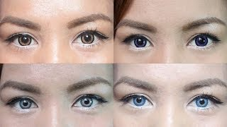 getlinkyoutube.com-Color Contact Lens Guide and Review (for Dark Eyes)