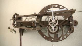 getlinkyoutube.com-Clayton Boyer's Marble Strike Clock
