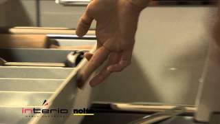 Szuflady pod płytą kuchenną - meble kuchenne Nolte