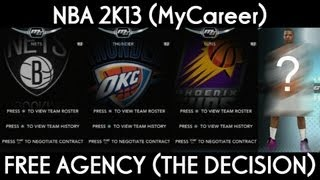 getlinkyoutube.com-NBA 2K13 MyCareer | Free Agency