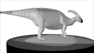 High Poly Parasaurolophus (Dinosaur)