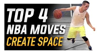 getlinkyoutube.com-Top 4 NBA Moves to Create Space: World's Best Basketball Moves